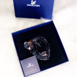 AUTHENTIC SWAROVSKI Crystal Heart Candle Holder